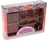 Melissa & Doug Girl's Dollhouse Furniture