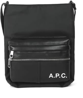 A.P.C. Black Camden Bag
