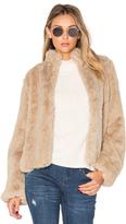 Tularosa x REVOLVE Inori Faux Fur Jacket