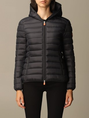 Save The Duck Jacket Gigay Down Jacket In Light Nylon With Hood