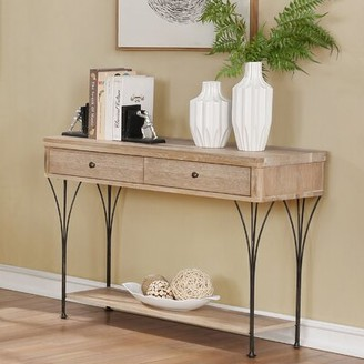 Pitzer Media Console Table Williston Forge