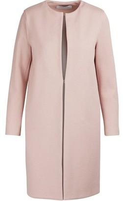 Harris Wharf London Collarless cotton coat
