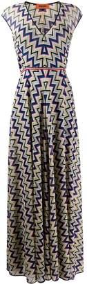 Missoni zigzag print dress