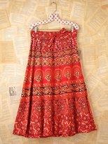 Namaste Vintage Maxi Wrap Skirt
