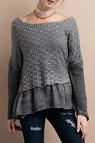 Easel Soft Cozy Sweater