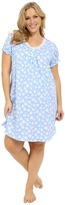 Lauren Ralph Lauren Plus Size Knit Short Sleeve Gown