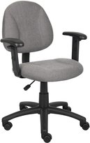 Boss Chair Boss Office Products Deluxe Posture Chair With Adjustable Arms