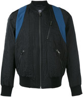 MCM zipped bomber jacket - men - Cotton/Polyester/Recycled Polyester - M