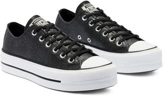 Converse Chuck Taylor(R) All Star(R) Glitter Lift Ox Platform Sneaker
