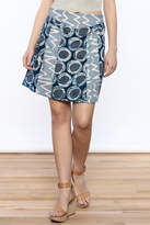 Global Mamas Panel Mini Skirt