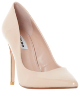 Dune Aiyana Pointed Toe Court Shoes, Nude