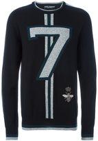 Dolce & Gabbana 7 sweater - men - Cashmere/copper/glass/Polyester - 50