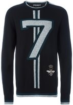 Dolce & Gabbana 7 sweater - men - Polyester/Cashmere/copper/glass - 50