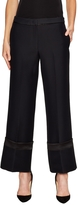 Derek Lam Women's Silk Piped Pajama Pant