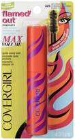 Cover Girl Flamed Out Water Resistant Mascara, 325, 11.ml
