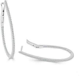 Sabrina Designs 14K 0.37 Ct. Tw. Diamond Inside Out Hoops