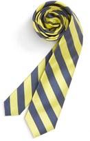 Nordstrom Stripe Silk & Cotton Tie (Big Boys)