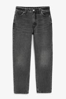 Monki Taiki washed grey jeans