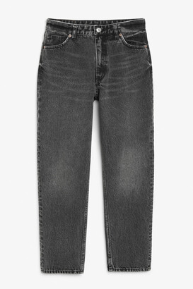 Monki Taiki washed grey jeans