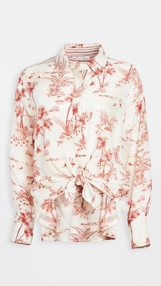 Frame Tie Up Toile Shirt