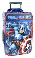 "Marvel Captain America 18"" Carry On Luggage - Blue"