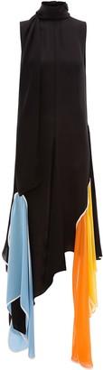 J.W.Anderson scarf detail Petal dress