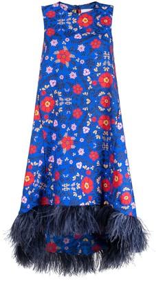 La DoubleJ Floral Print Sleeveless Dress