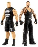 WWE Tough Talkers Brock Lesnar and Undertaker Action Figure 2-Pack