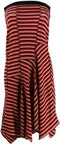 Sonia Rykiel asymmetric stripe dress