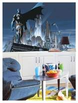 Batman RoomMates Chair Rail Prepasted Mural 6' x 10.5' - Ultra-strippable