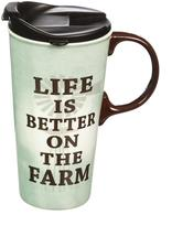 Evergreen Farmers Travel Mug