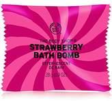 The Body Shop Strawberry Bath Bomb, Fizzing Bubble Bath, 28g