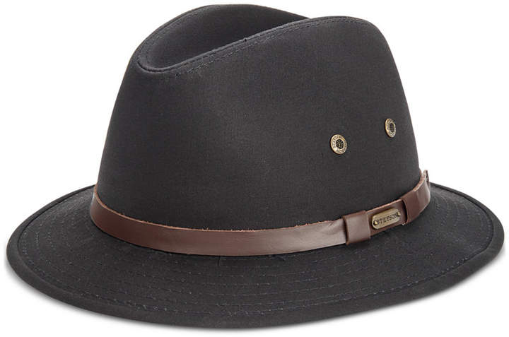 6d24aaff4 Stetson Men Gable Rain Safari Hat