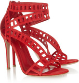 Gianvito Rossi Cutout suede sandals