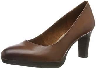 Tamaris Women's 1-1-22410-23 Platform Heels, Red (Bordeaux 549)