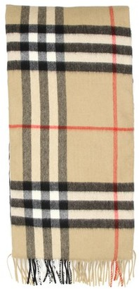 Burberry Giant Check Icon cashmere scarf