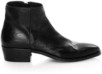 COLLECTION Ludlow Leather Zip Ankle Boots