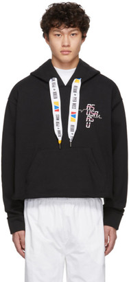 Reebok by Pyer Moss Black Collection 3 Franchise Hoodie