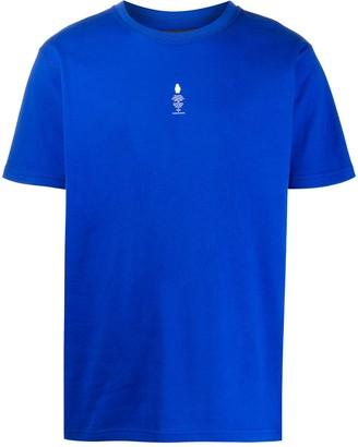 Styland Not Rain Proof crew-neck T-shirt