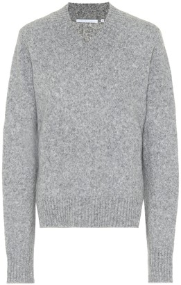 Helmut Lang Tie-sleeve wool-blend sweater