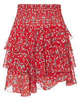 Exclusive for Intermix Keelan Ruffle Mini Skirt
