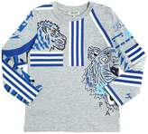 Kenzo Tiger Printed Jersey T-Shirt
