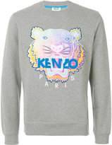 Kenzo Rainbow Tiger sweatshirt - men - Cotton/Spandex/Elastane - S