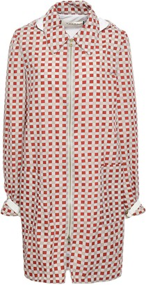 Marni Checked Shell Hooded Jacket