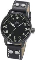Laco 1925 Men's Automatic Watch with Dial Analogue Display and Leather Strap 861759