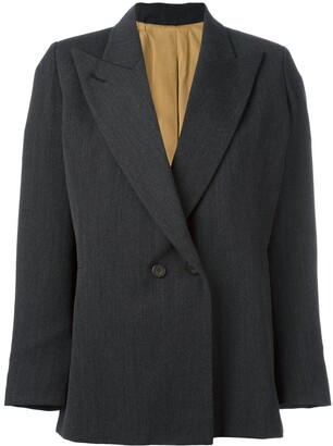 Jean Paul Gaultier Pre Owned Peaked Lapel Blazer