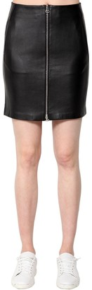 Rag & Bone Heidi Leather Mini Skirt