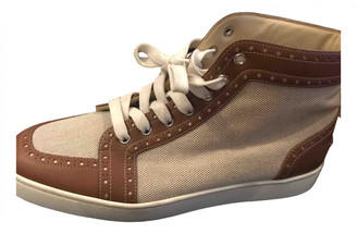 Christian Louboutin Louis Other Leather Trainers