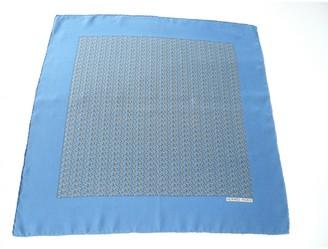 Hermes Gavroche 45 Blue Silk Scarves