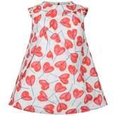 Catimini CatiminiWhite & Red Floral Print Dress